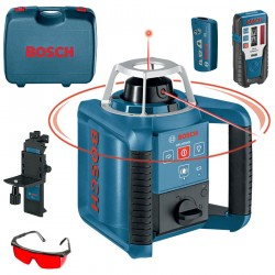 Professional Nivela laser rotativa + Telecomanda BOSCH Professional GRL 300 HV SET+RC 1 - Nivele cu laser