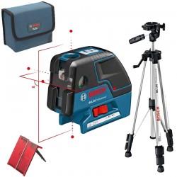 Professional Nivela laser cu linii/puncte + Stativ constructii BOSCH Professional GCL 25 + BS 150 - Nivele cu laser