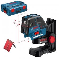 Professional Nivela laser cu linii/puncte + Suport perete BOSCH Professional GCL 25 + BM 1 - Nivele cu laser