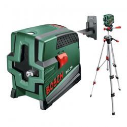 Nivela laser cu linii + Stativ constructii Bosch Verde PCL 20 + Stativ 1,5 m - Nivele cu laser