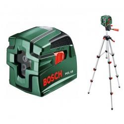 Nivela laser cu linii + Stativ constructii Bosch Verde PCL 10 Nivela laser cu linii + Stativ - Nivele cu laser