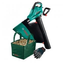 Aspirator/suflator frunze + Punga colectoare + Manusi Bosch Gradinarit ALS 25  - Suflatoare/aspiratoare de frunze