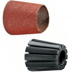 Suport conic pentru manson slefuit 30 mm + Manson slefuit, granulatie 80 - Slefuitoare