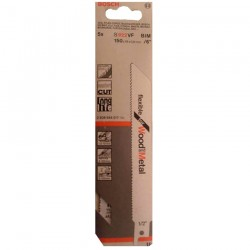 5 PANZE S922VF Fflexible for Wood&Metal - Ferastraie sabie si coada de vulpe