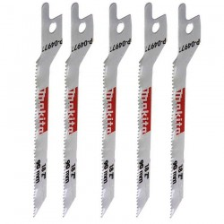 Set 5 panze BiMetal INOX 90 mm - Ferastraie sabie si coada de vulpe
