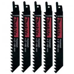 Set 5 panze HSS LEMN 150 mm - Ferastraie sabie si coada de vulpe