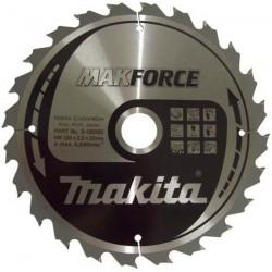 Disc MAKFORCE 235X30X60T LEMN EXTRA FIN - Ferastraie circulare