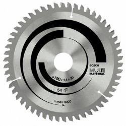DISC MULTIMATERIAL 190X30X54T (FOARTE FIN) - Ferastraie circulare