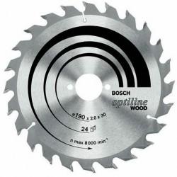 DISC OPTILINE WOOD 160X20/16X24T (GROSIER) - Ferastraie circulare