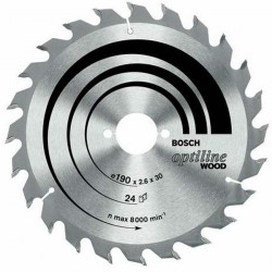 DISC OPTILINE WOOD 160x20/16X48T (FOARTE FIN) - Ferastraie circulare