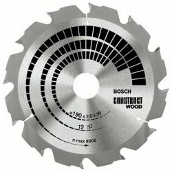 DISC CONSTRUCT WOOD 190X30X12T (GROSIER) - Ferastraie circulare
