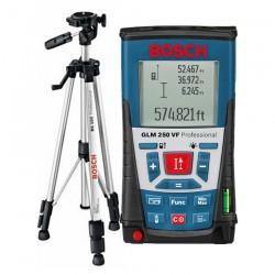 Professional Telemetru cu laser 250 M + Stativ constructii BOSCH Professional GLM 250 VF + BS 150 - Telemetre cu laser
