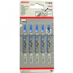 5 Panze T118B basic for Metal - Ferastraie verticale