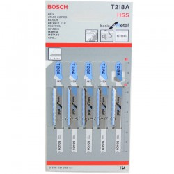 5 Panze T218A basic for Metal - Ferastraie verticale