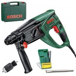 Ciocan rotopercutor SDS-plus + 6 burghie SDS plus + Spitz Bosch Verde PBH 2900 FRE - Ciocane rotopercutoare