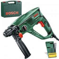 Ciocan rotopercutor SDS-plus 550 W, 1.7 J + 6 Burghie Bosch Verde PBH 2100 RE - Ciocane rotopercutoare