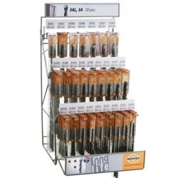 DISPLAY BURGHIE SDS PLUS S4 (113 burghie SDS plus) - Ciocane rotopercutoare