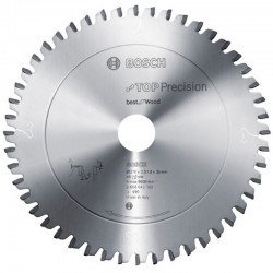 DISC TOP PRECISION BEST FOR WOOD 254X30X60T (FIN) - Ferastraie stationare
