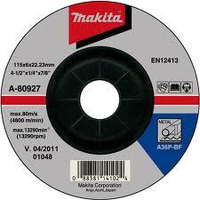 10 DISCURI SLEFUIRE METAL 125X6 - Polizoare unghiulare