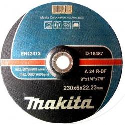 10 DISCURI SLEFUIRE METAL 230X6 - Polizoare unghiulare