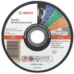 DISC RAPIDO MUTICONSTRUCT 125x1.0 (25 Bucati) - Polizoare unghiulare