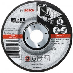 DISC 3 IN 1 125x2,5 (25 Bucati) - Polizoare unghiulare