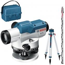 Professional Nivela optica + Trepied + Mira (120 m) BOSCH Professional GOL 32 G + BT 160 + GR 500 - Nivele optice