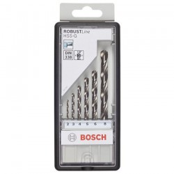 BOSCH Professional CASETA 6 BURGHIE METAL HSS-G ROBUST LINE - Masini de gaurit si insurubat