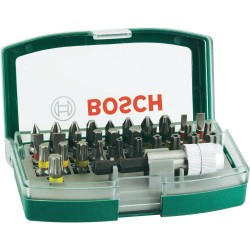 Bosch Verde Set 31 biti + adaptor X-LINE - Masini de gaurit