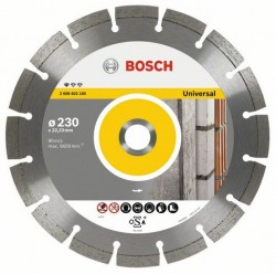 DISC DIAMANTAT UNIVERSAL 230 PROFESSIONAL - Masini de taiat/frezat cu disc diamantat