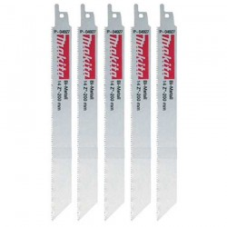 Set 5 panze BiMetal OTEL 200 mm - Ferastraie sabie si coada de vulpe