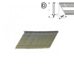 2500 CUIE SEMIROTUNDE, NETEDE, GALVANIZATE 90 MM PT. GSN 90-34 DK - Capsatoare