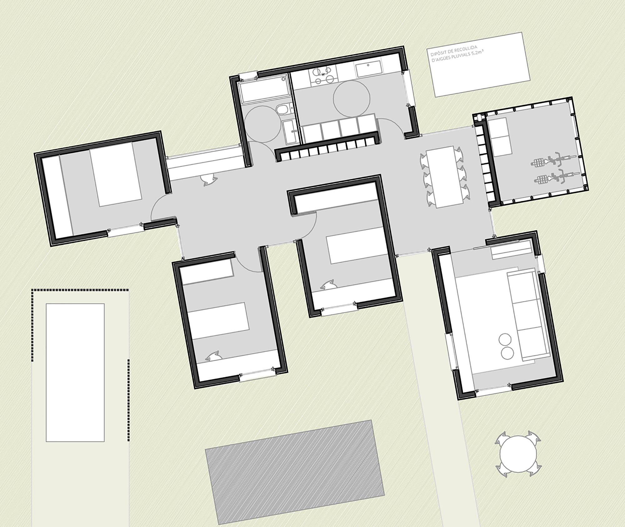 GG casa bio-climatica - GG casa bio-climatica - schite
