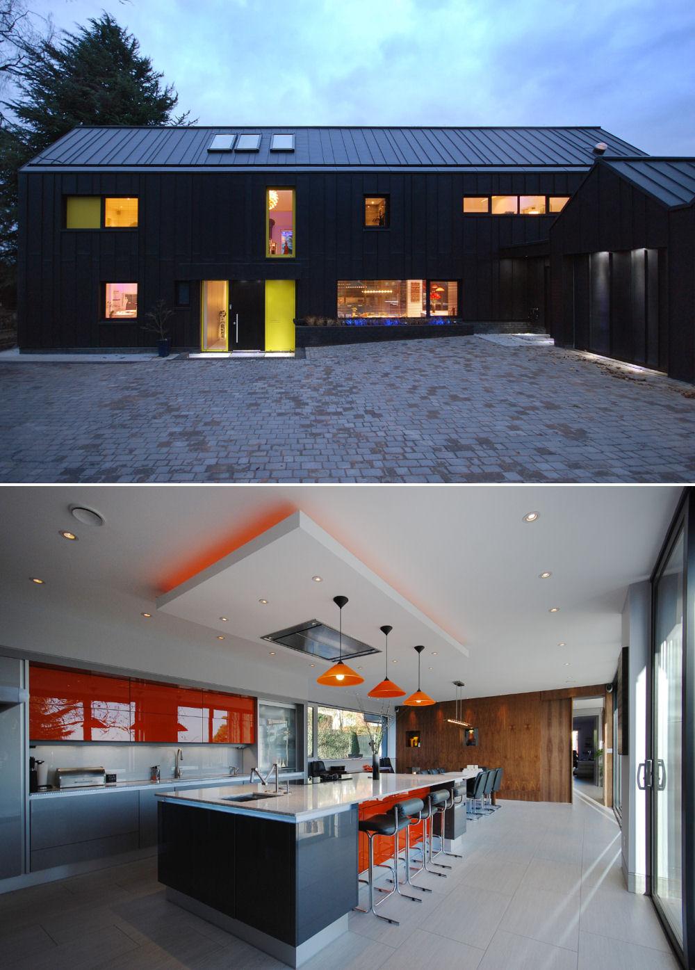 Casa construita in functie de colectia de arta ce trebuia sa o gazduiasca - Casa construita