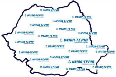Harta UNIOR-TEPID - Unior-Tepid