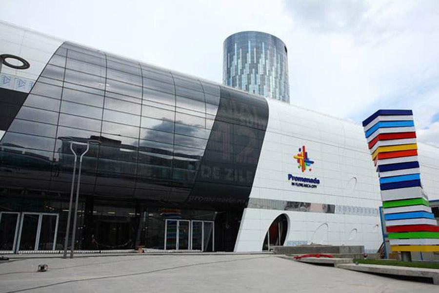 Prelucrare sticla si montaj pentru Mall Promenada Bucuresti - Prelucrare sticla si montaj Mall Promenada Bucuresti