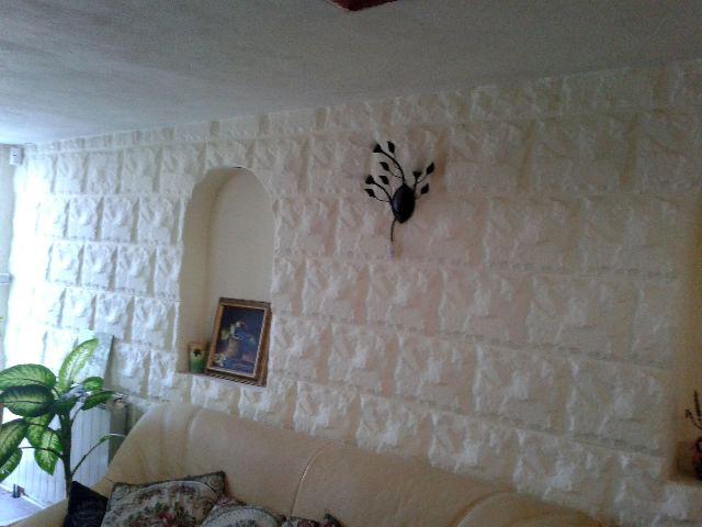 Placare cu piatra perete interior - CONSTRUCTII MILLENIUM 4 - Placare cu piatra perete interior -
