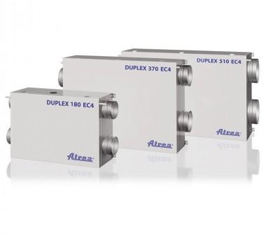 Unitate de ventilatie DUPLEX EC4 - Unitati de ventilatie cu recuperare de caldura