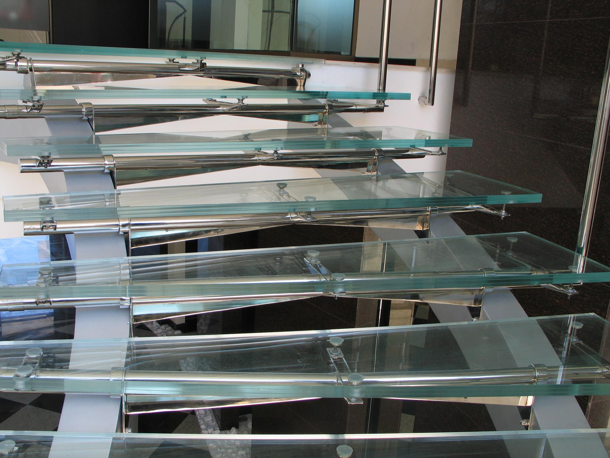 Scara din sticla Diamant SGG - Scara din sticla Diamant SGG