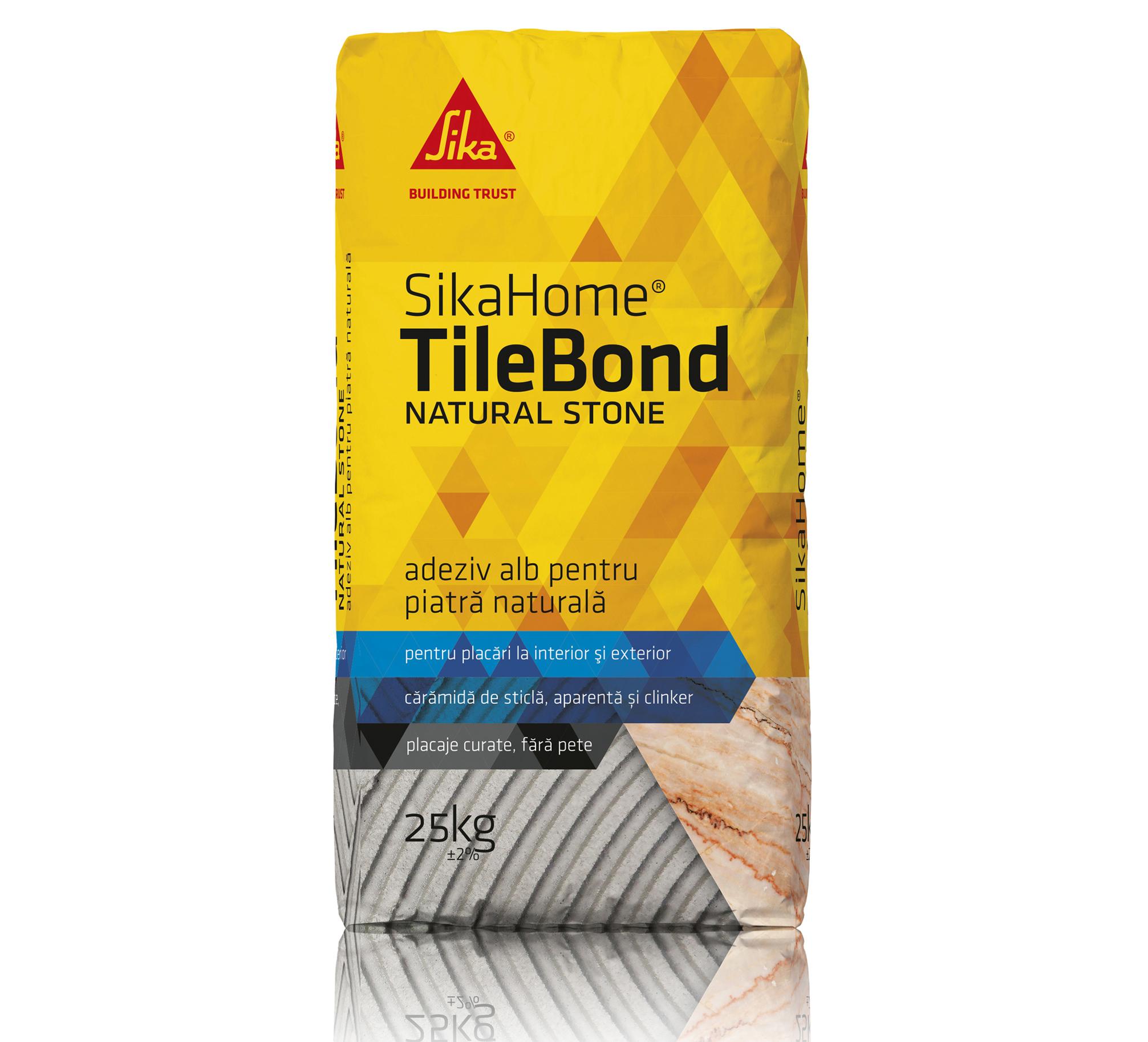 SikaHome TileBond NATURAL STONE - SikaHome TileBond NATURAL STONE