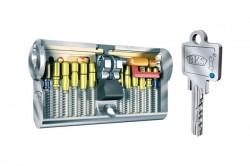 Cilindru cu cheie reversibila LIVIUS Seria 50-51 - Sisteme cu cheie reversibila - Cilindri