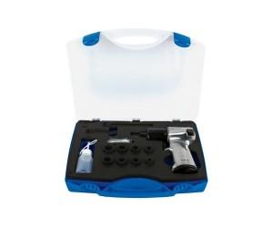 Set IMPACT cu pistol pneumatic si accesorii 3 8 UNIOR - Masini de gaurit pneumatice - Unior