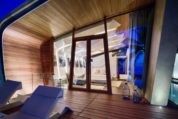 Casa de vacanta cu volume inspirate din miscarile valurilor - Casa de vacanta cu volume inspirate