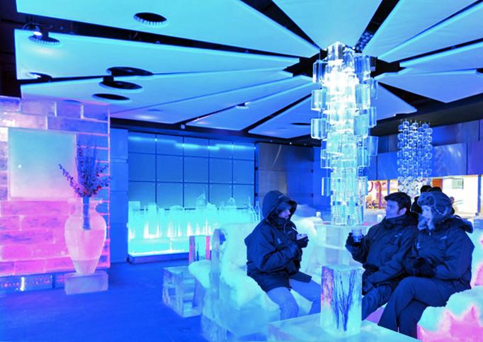 Cafea la minus 21 de grade in Dubai - Cafea la minus 21 de grade in
