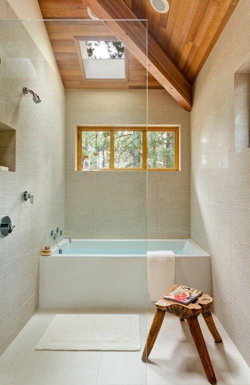 Tendinte pentru camera de baie cada si dusul la un loc - Tendinte pentru camera de