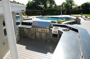 Bucatarie de vara deschisa, stil profesional, high-tech  - Cateva idei pentru amenajarea bucatariei de vara