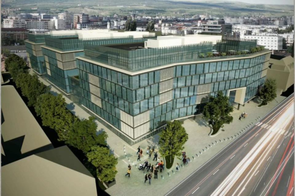 Un nou proiect de anvergura cu acoperisuri verzi in Cluj-Napoca - Un nou proiect de anvergura
