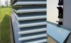 Brisesoleil-uri EOLE cu lamele din aluminiu - Brisesoleil-uri