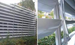 Brisesoleil-uri EQUINOXE cu lamele din aluminiu - Brisesoleil-uri