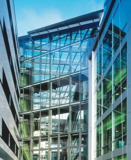 CONTRAFLAM LITE - Telenor Building - Sticla rezistenta la foc